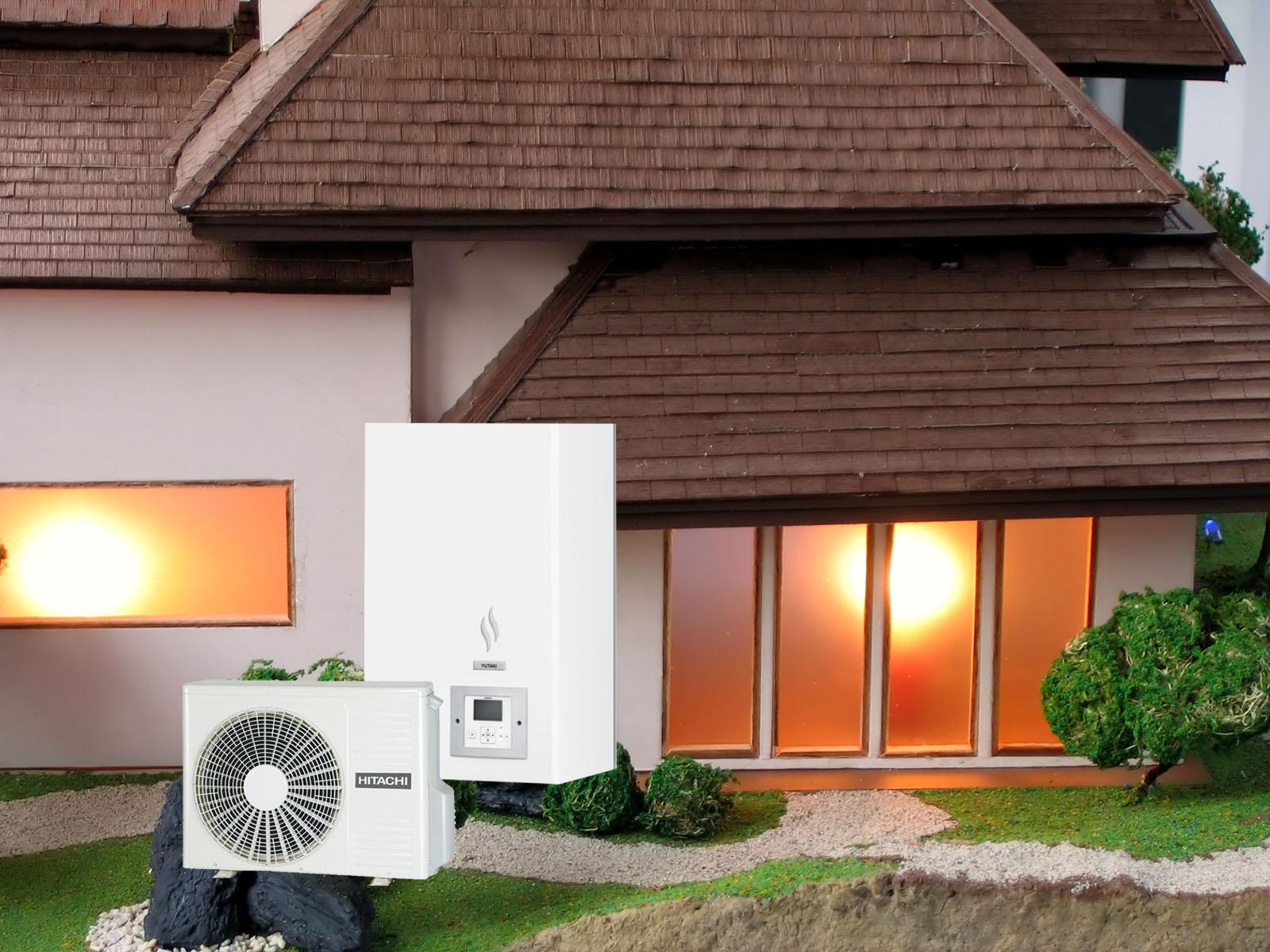 Тепловой насос Hitachi