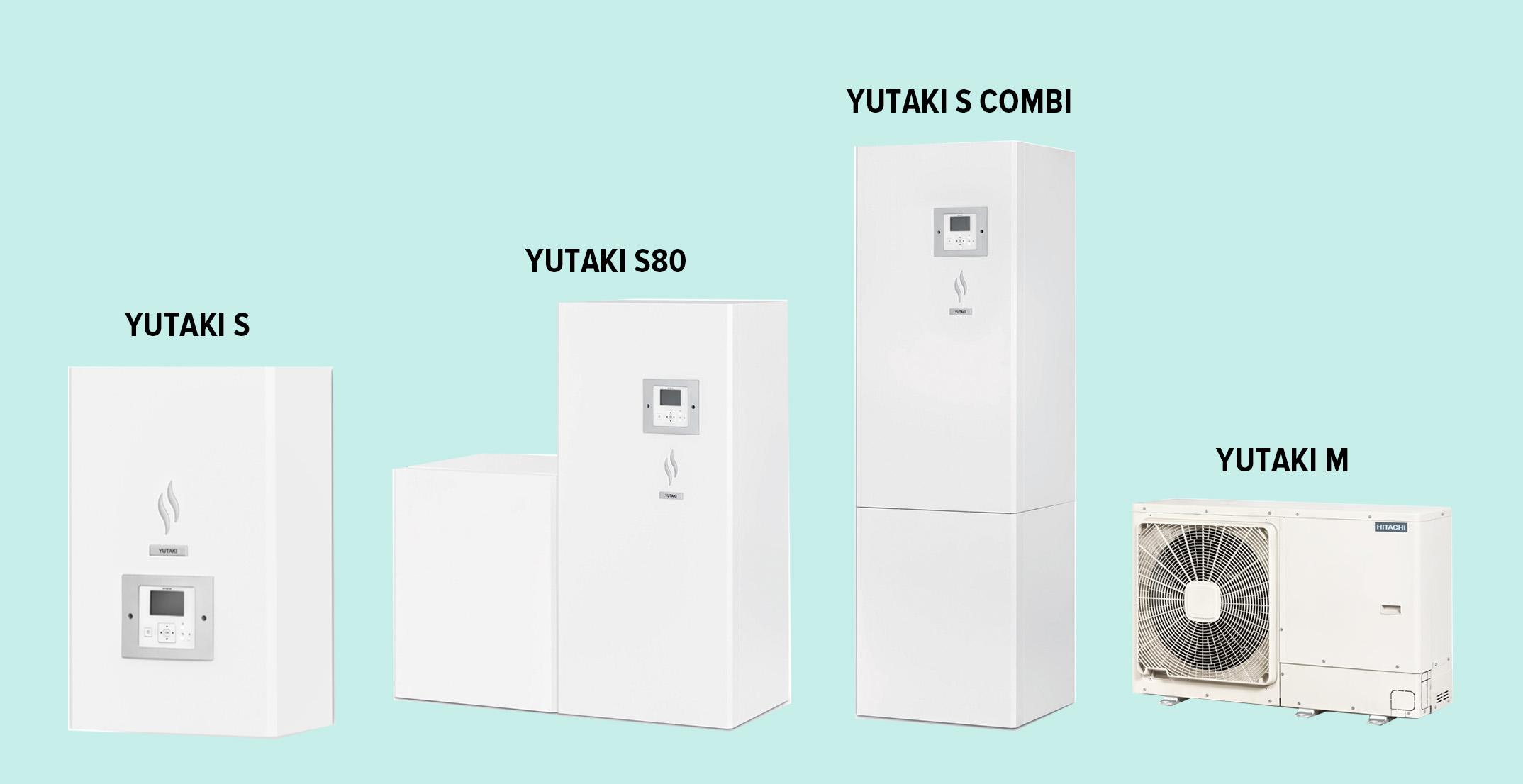 Модельный ряд для отопления дома тепловым насосом